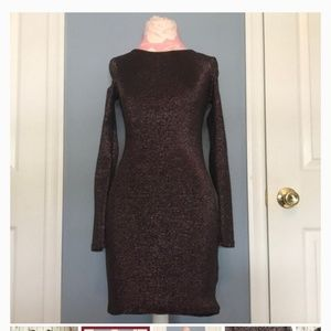 H&M Divided Size 4 Shimmery back out dress